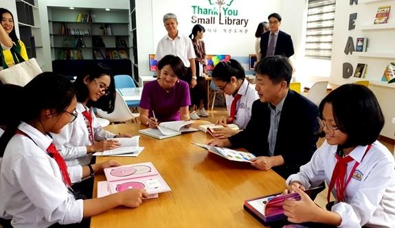 Khánh thành 3 thư viện do Hàn Quốc tài trợ tại Nam Định