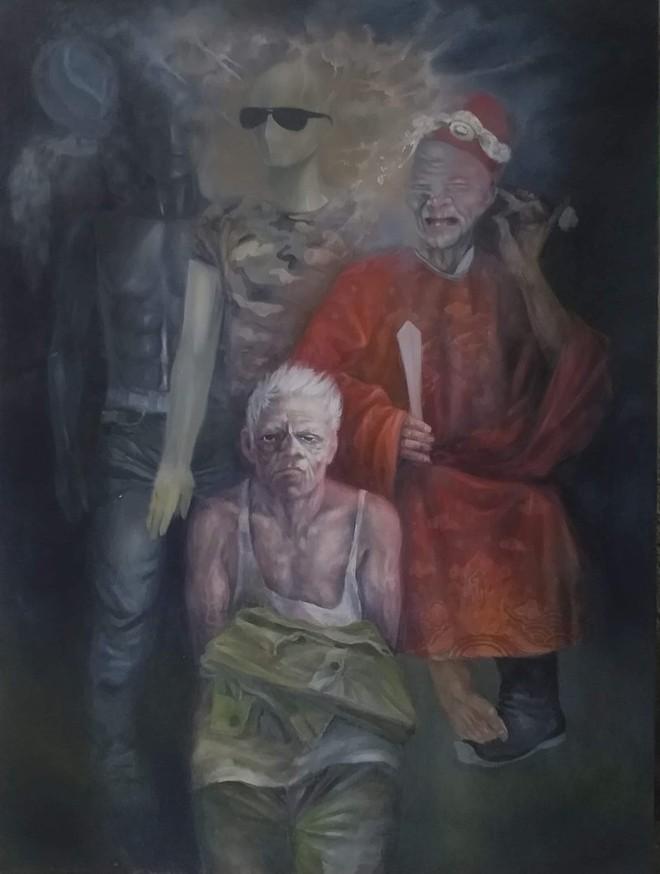 Tác phẩm của hoạ sỹ Nguyễn Đoan Ninh