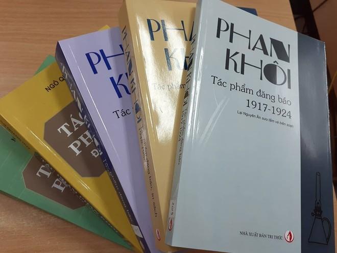 Các tác phẩm của Phan Khôi từng được NXB Tri thức ấn hành