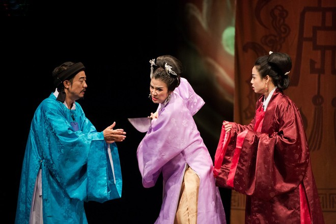 """Vở diễn """"Huyền thoại gò Rồng Ấp"""" của sân khấu tư nhân Lệ Ngọc"""