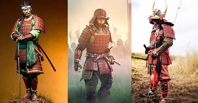 Áo giáp của các Samurai Nhật Bản