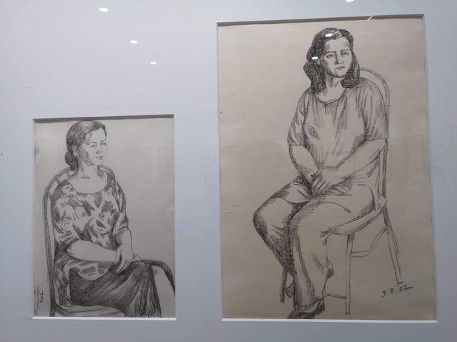 Những bức ký họa thể hiện kỹ thuật và tài năng của họa sĩ Ngô Mạnh Lân