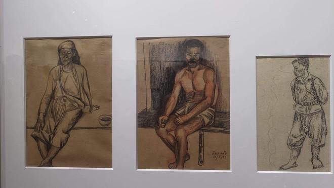 Chất liệu cuộc sống ngồn ngộn trong các sáng tác của họa sĩ Ngô Mạnh Lân