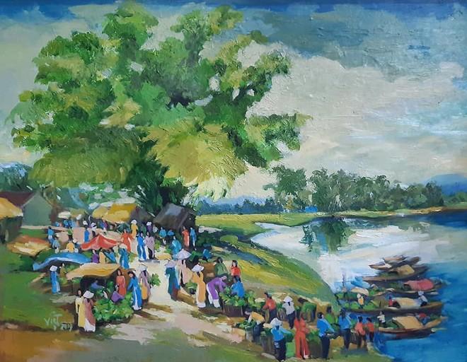 Tác phẩm của họa sĩ Hoàng Tuấn Việt