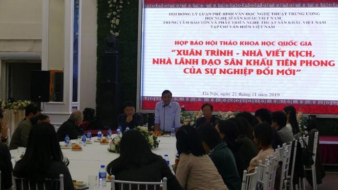 Buổi họp báo thông tin về chương trình diễn ra sáng ngày 21-11 tại Hà Nội