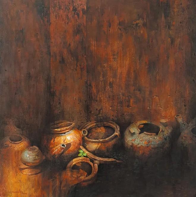 Tác phẩm của họa sĩ Hà Phước Duy