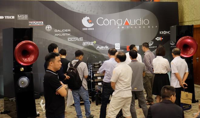 Đến Vietnam Hi-end Show 2019 để tận thấy loạt mâm đĩa than cao cấp tiền tỷ