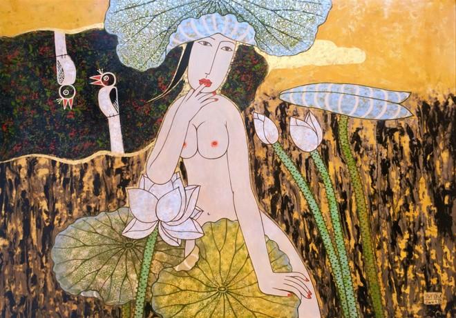 Tác phẩm của họa sĩ Bùi Trọng Dư