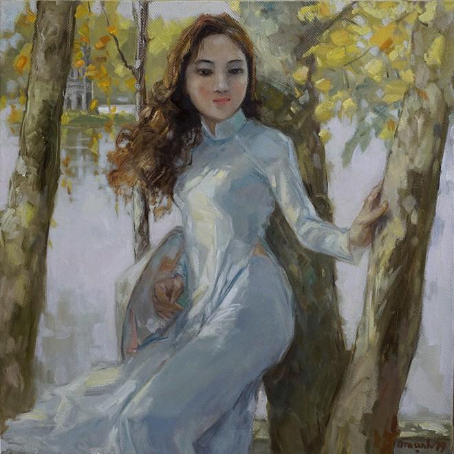 Tác phẩm của họa sĩ Lâm Đức Mạnh