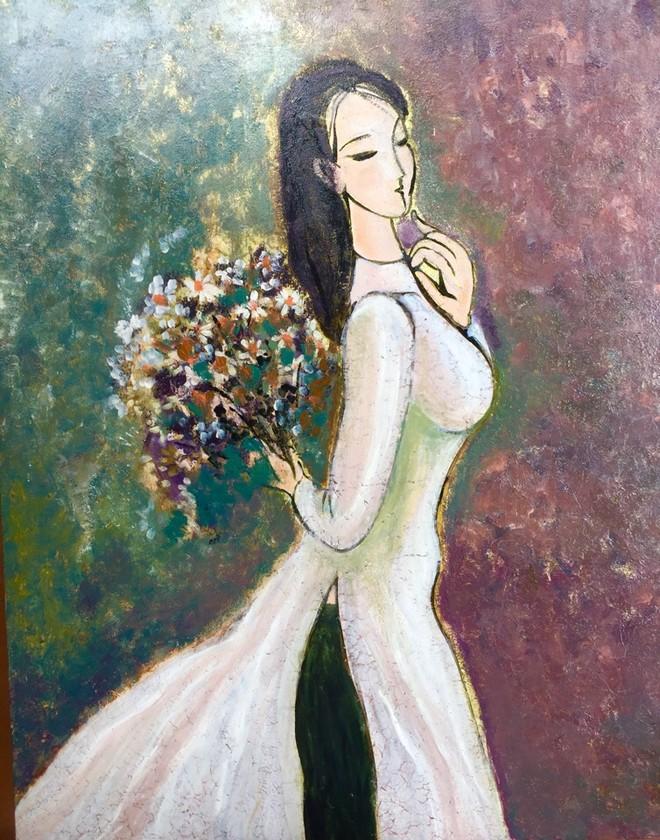 Tác phẩm của họa sĩ Nguyễn Hồng Phương