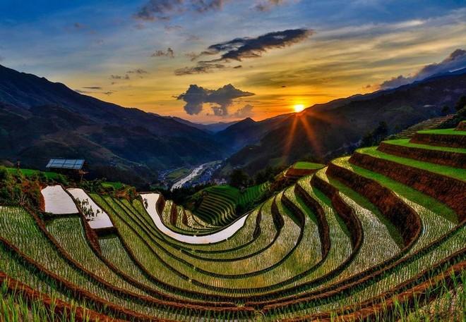 Vẻ đẹp của ruộng bậc thang Mù Cang Chải