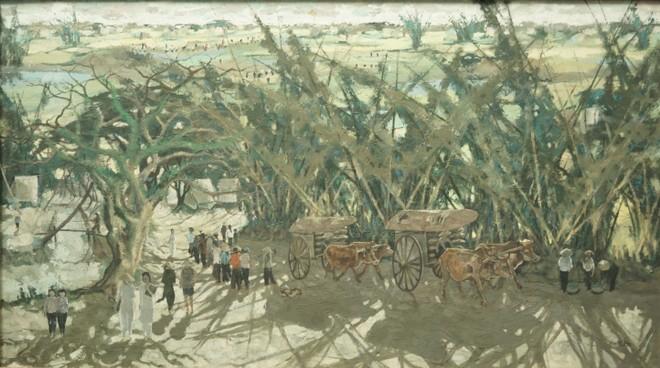"""Tác phẩm """"Phát triển thôn quê"""" của Nguyễn Văn Ký"""