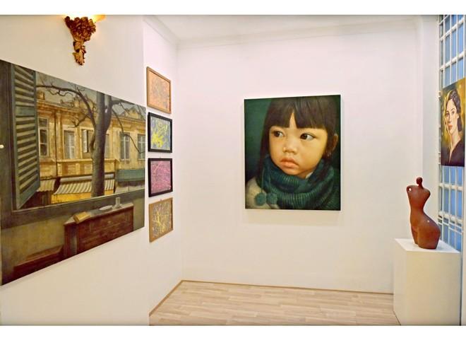 Không gian nghệ thuật là nơi trưng bày các tác phẩm mỹ thuật