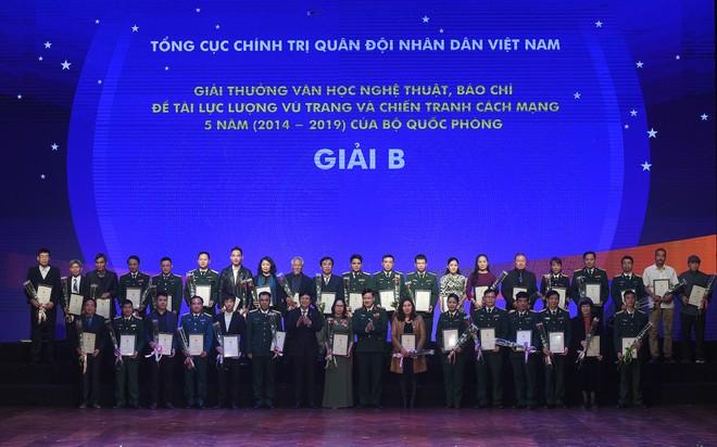 BTC trao giải B cho các tác giả đoạt giải