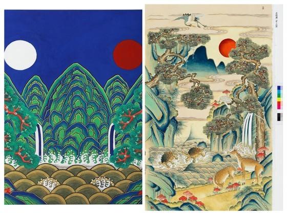 Các tác phẩm thể hiện vẻ đẹp của xứ sở kim chi