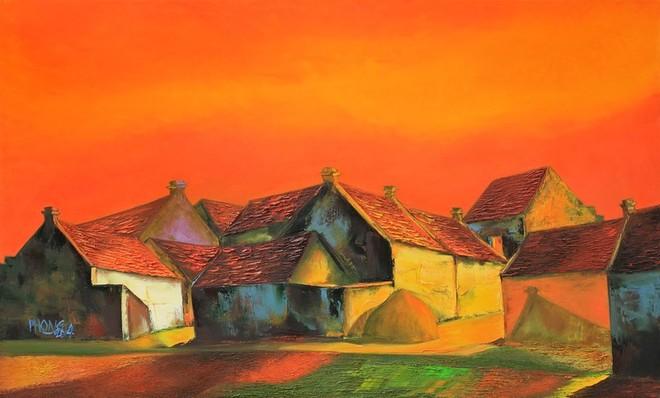 Tranh của họa sĩ Đào Hải Phong được thị trường đón nhận