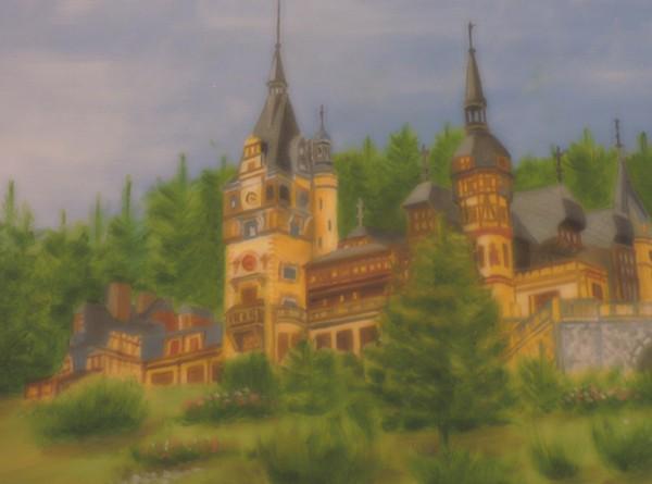 Một tác phẩm của họa sĩ Romania