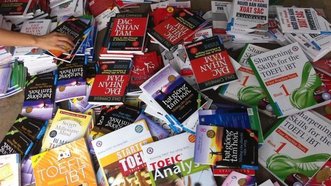 Nhiều đầu sách bị làm giả, làm nhái