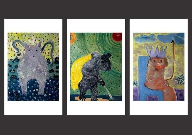 Các tác phẩm trưng bày tại triển lãm