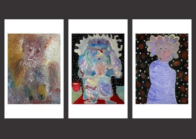 Bùi Hoàng Dương biến hóa khôn lường trong hội họa với những quân bài Tarot