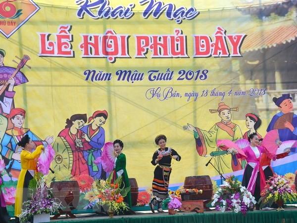 Nam Định dừng tổ chức Lễ hội Phủ Dầy năm 2020