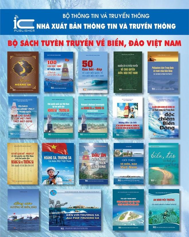 Xuất bản bộ sách đồ sộ về biển đảo Việt Nam