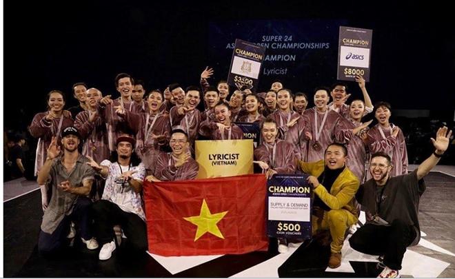 Nhóm nhảy Lyricst từng giành thứ hạng cao tại các cuộc thi quốc tế