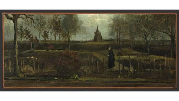 """Bức họa """"Vườn xuân"""" của danh họa van Gogh đã bị lấy trộm. Ảnh: AP"""