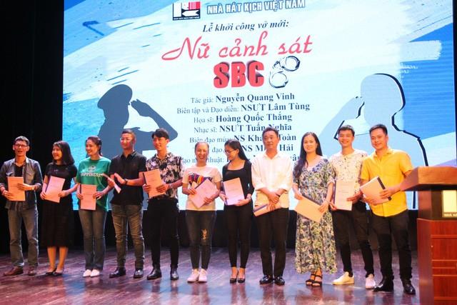 Các diễn viên tham gia vở Nữ cảnh sát SBC