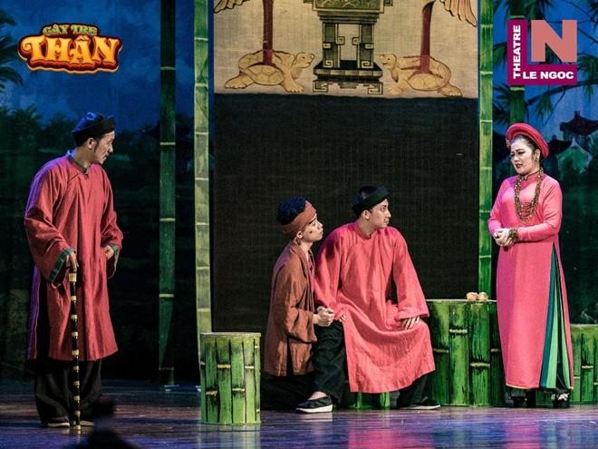 """Vở diễn """"Cây tre thần"""" của sân khấu Lệ Ngọc"""
