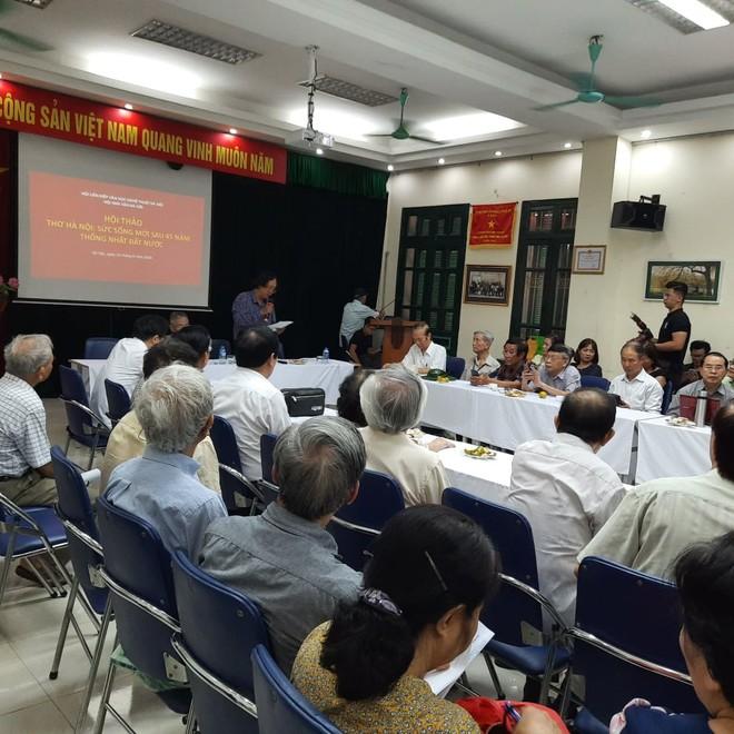 Hội thảo vừa diễn ra sáng ngày 10-6 tại Hà Nội