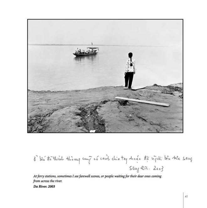 Thương nhớ về những bến đò ven sông qua ảnh của Nguyễn Hữu Tuấn