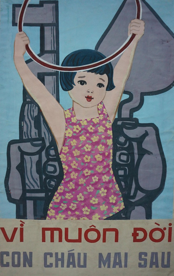 Bảo tàng Mỹ thuật Việt Nam giới thiệu bộ tranh cổ động quý hiếm