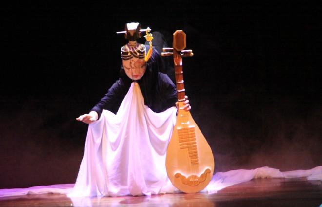Nàng Thúy Kiều trên sân khấu múa rối cạn