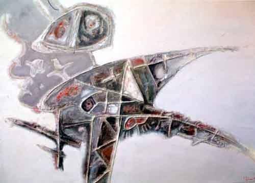 Sáng tác tranh trừu tượng của Đỗ Minh Tâm từng lên sàn nhà đấu giá Chọn