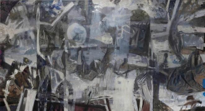Một tác phẩm của Đỗ Minh Tâm tại triển lãm cá nhân sắp ra mắt