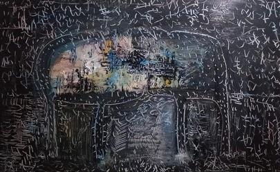 Tác phẩm của họa sĩ Hoàng Dương