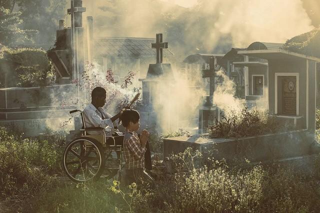 """Bức ảnh """"Nhớ mẹ"""" được thực hiện bởi nhiếp ảnh gia người Việt @nguyenvuphuoc"""