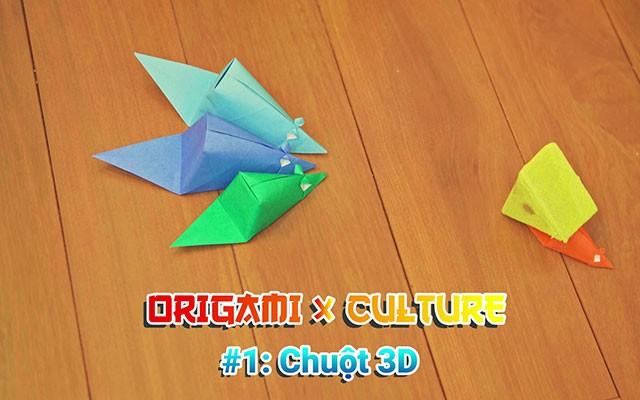 """Giới thiệu chuỗi chương trình """"online"""" về nghệ thuật gấp giấy Origami"""