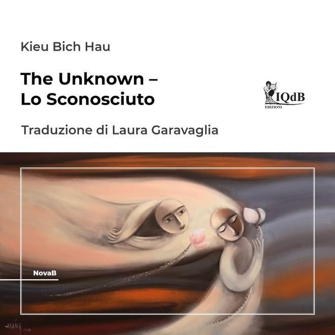 """Bìa của tập thơ """"Ẩn số"""" được xuất bản ra tiếng Ý"""