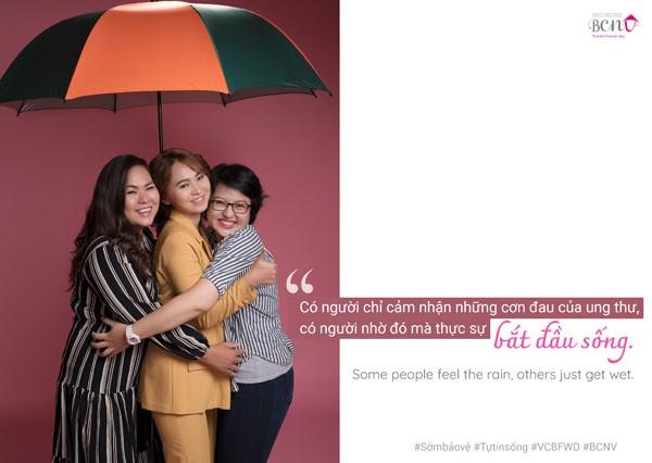 Khoảnh khắc hạnh phúc và lạc quan của các bệnh nhân ung thư