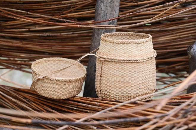 Giới thiệu nét văn hóa đặc sắc của nghề đan lát Cơ Tu tại Hà Nội
