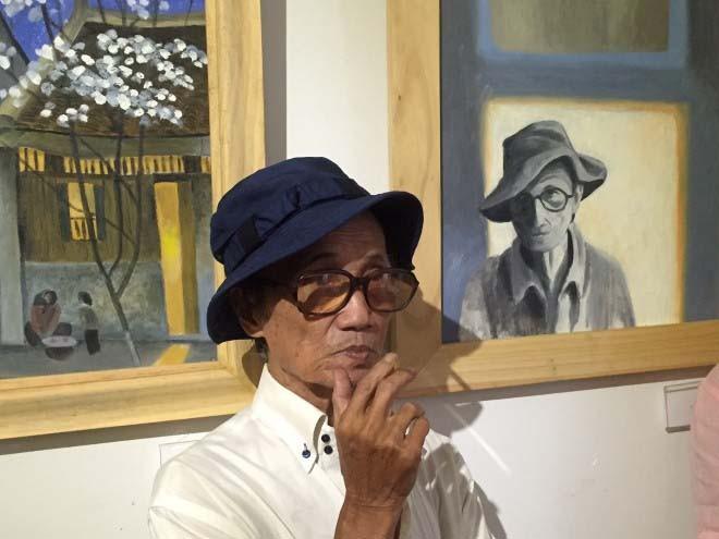 Họa sĩ Trịnh Thái khá giống nhạc sĩ Trịnh Công Sơn