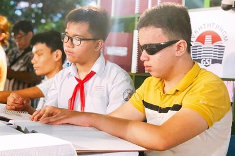 Sân chơi cho người khiếm thị trao đổi kinh nghiệm học tập suốt đời