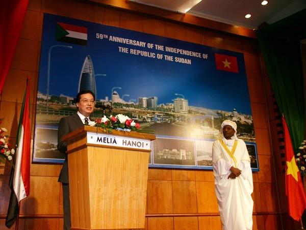 Tăng cường quan hệ hợp tác hữu nghị giữa Việt Nam và Sudan ảnh 1