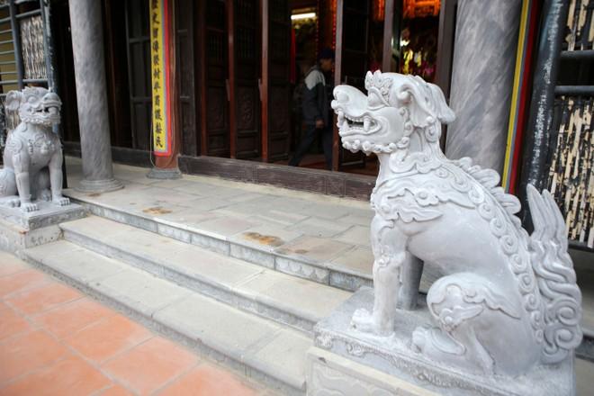 Làng nghề Trạch Xá di dời sư tử đá ngoại lai, đón nhận nghê Việt ảnh 3