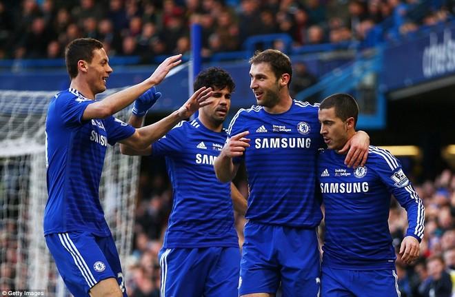 Vòng 26 Premier League: Chelsea, M.U cùng gây thất vọng ảnh 1