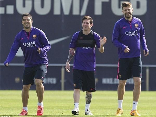 Messi, Suarez bất ngờ bị kiểm tra doping ảnh 1