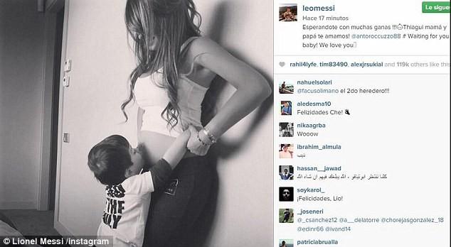 Messi sắp chào đón quý tử thứ hai ảnh 1