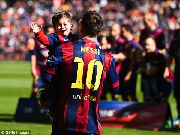 Messi sắp chào đón quý tử thứ hai ảnh 2